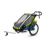 THULE lastekäru Chariot Sport Chartreuse/Mykonos