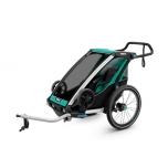 THULE lastekäru Chariot Lite Blue Grass/Black
