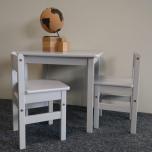 Troll laua-tooli komplekt soft grey
