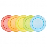 Munchkin värvilised taldrikut 5 tk