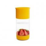 Munchkin joogitops puuviljapressiga kollane
