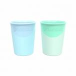 Twistshake joogitops 170ml sinine ja roheline 2tk