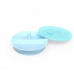 Twistshake Divided Plate taldrik sinine