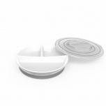 Twistshake Divided Plate taldrik valge
