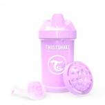 Twistshake Crawler joogitops 300ml roosa