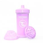 Twistshake Kid Cup joogitops 360ml roosa