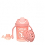 Twistshake Mini Cup joogitops 230ml Pastel Peach