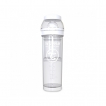 Twistshake Anti-Colic lutipudel 330ml valge