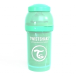 Twistshake Anti-Colic lutipudel 180ml roheline