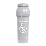 Twistshake Anti-Colic lutipudel 260ml hall
