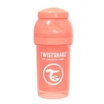 Twistshake Anti-Colic lutipudel 180ml Pastel Peach