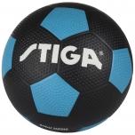 Stiga tänavajalgpall Soccer 5 must-türkiis