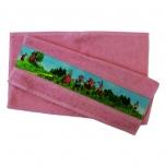 Lotte froteerätik 4 sõpra roosa, 50x70cm